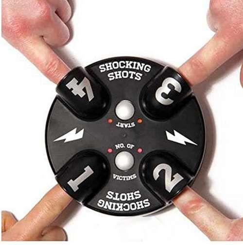 Новый забавный электрический палец машина шок хитрый детектор лжи шокирует лжец правда или смеет приколы розыгрыши партии игры