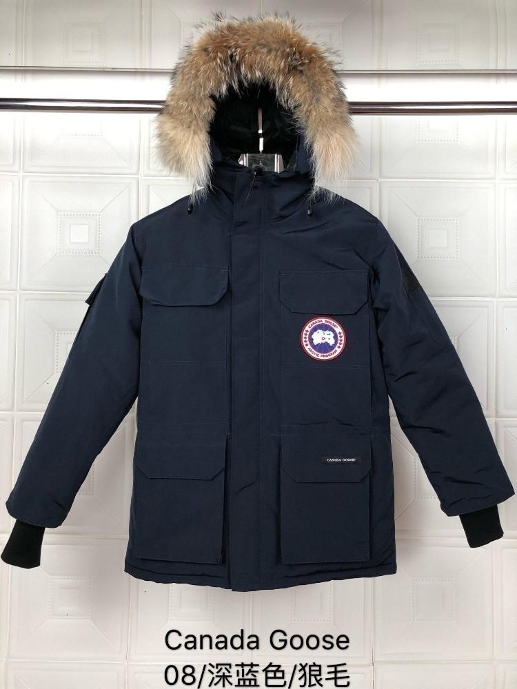 2019 par de invierno caliente de espesor invierno cálido coat190722 # 0152011