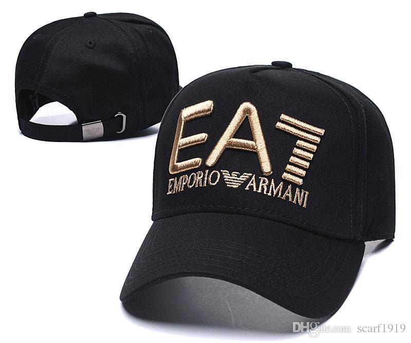 Cap-2 Cappello per il sole modo di alta qualità delle donne di estate cotone nero Cap 2020 degli uomini popolari Casual Baseball