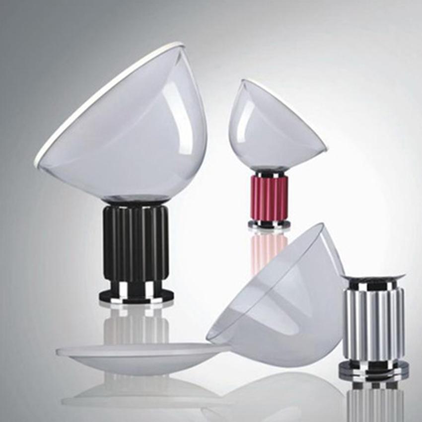 رادار الشمال LED زجاج مصابيح الإضاءة الجدول ما بعد الحداثة المعيشة مصباح غرفة نوم داخلي ديكور دراسة السرير الثابتة تجهيزات إضاءة