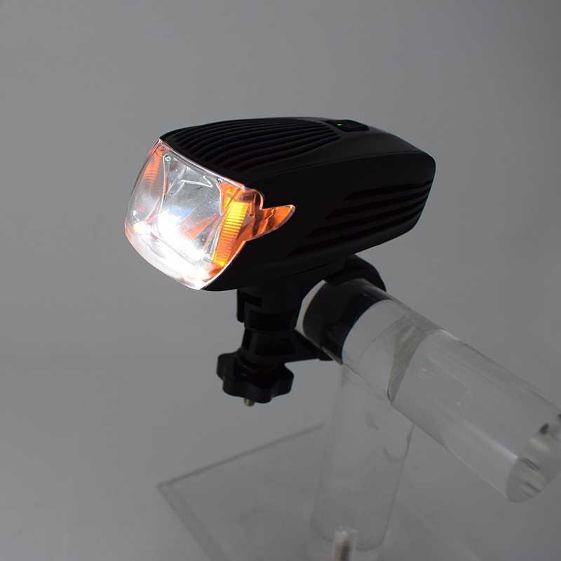 Bisiklet Işık Bisiklet LED Zoomable Bisiklet USB şarj edilebilir bisiklet lambası Binme Emniyet gidon Ön lamba yanar