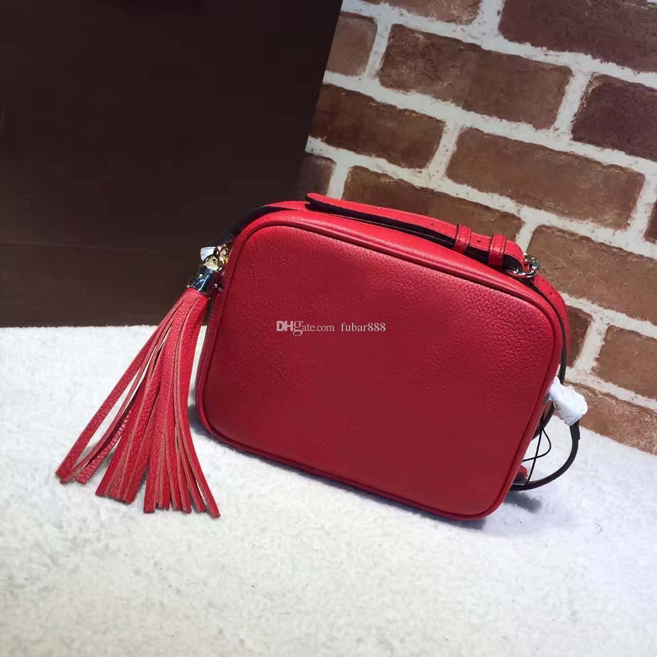 Ücretsiz nakliye! Sıcak Moda tasarımı omuz çantası bayan Litchi profil kadınlar haberci çanta% 100 hakiki deri çanta 308.364 püskül