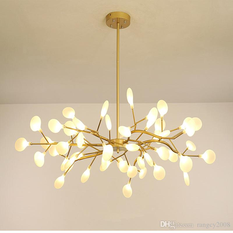 Modern Chandeliers Firefly Chandelier lighting For Living Room Nordic Lustre Luminaire Industrial Lighting Fixtures G4 Bulbs