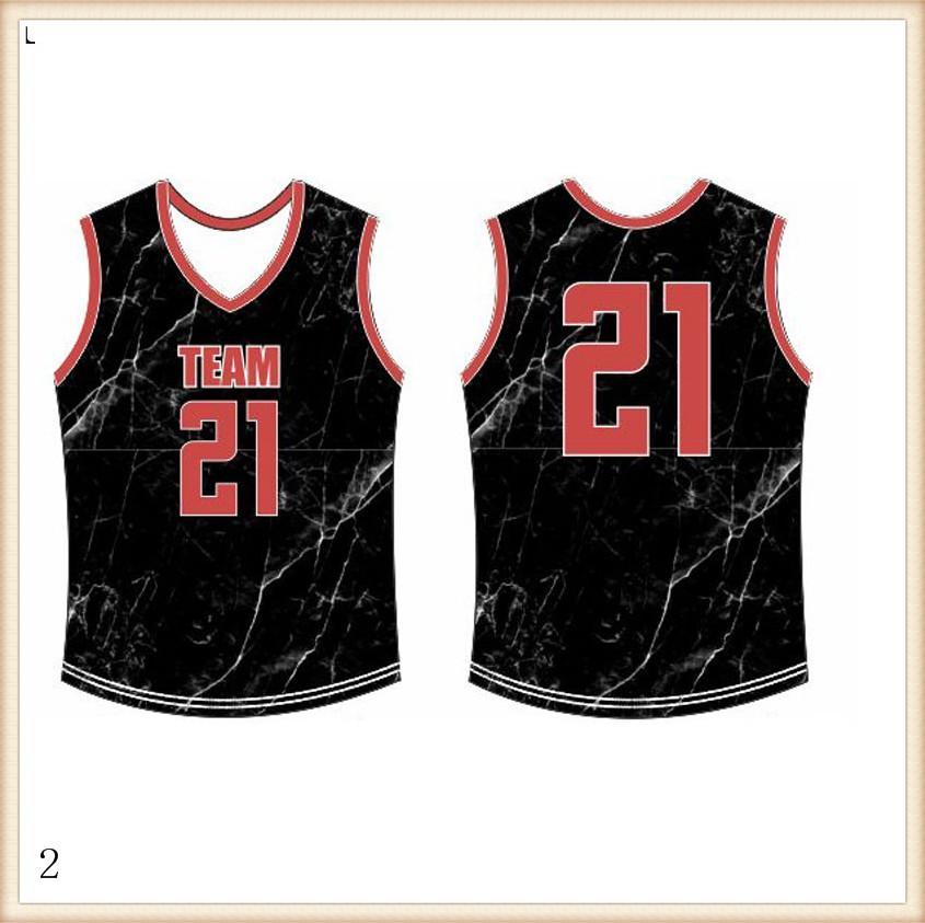 2019 2020 баскетбольное Quick Dry СИНИЙ красный Вышивка логотипов Бесплатная доставка Дешевые оптовые Мужчины Размер Jersey22188