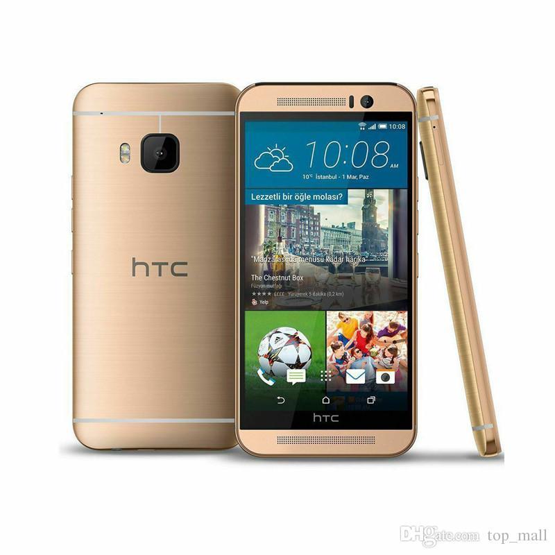 Original Unlocked HTC ONE M9 4G LTE Octa Core 32GB ROM 3GB RAM 20MP Camera WIFI NFC GPS Refurbished Smartphones