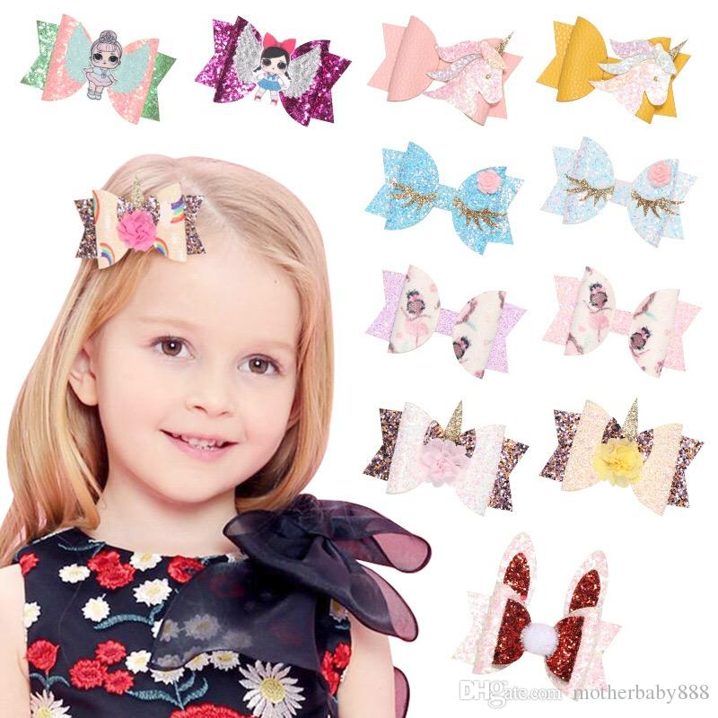 Pack of 3 Fairy Glitter Hair Clips Girls Hair Accessories Toddler Child Hair