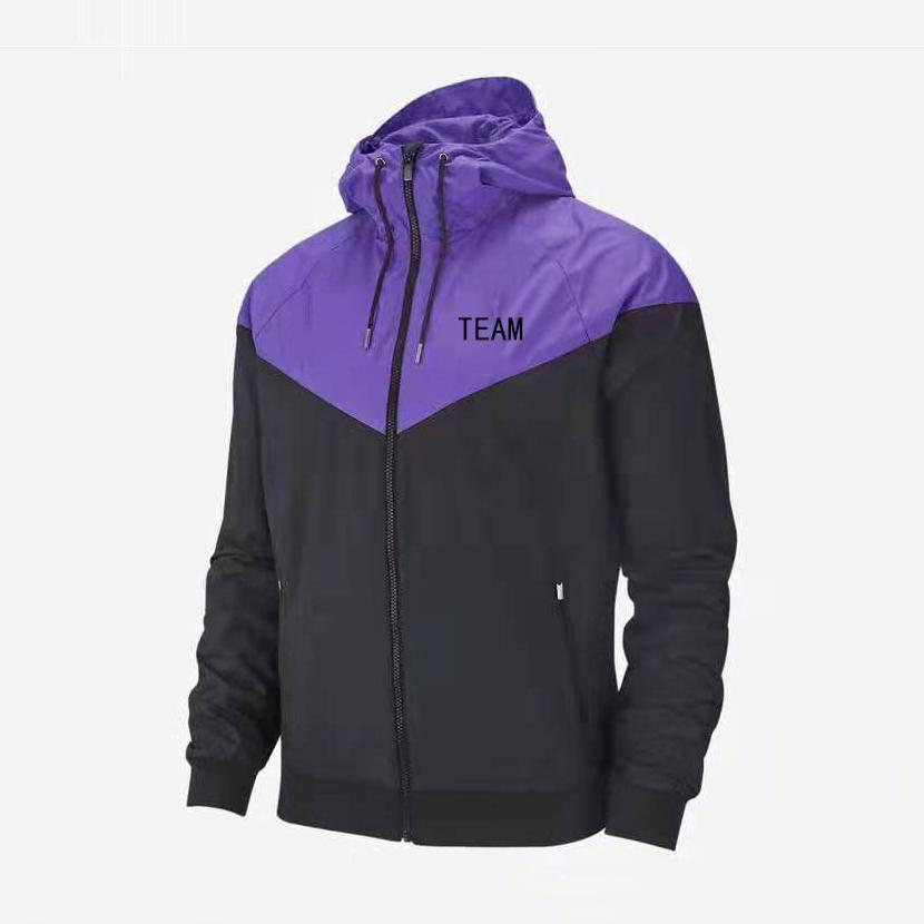 Новый Casual Mens Fashion Design Sports Brand Team Жакеты Club Ветровка пальто Запуск Outwear Верхнее качество