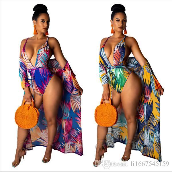 새로운 섹시 블라우스 비키니 여성 수영복 블라우스 비치 수영복 beachwear 폴리 에스터 수영복 비치 스커트 긴 코트 가운을 그린