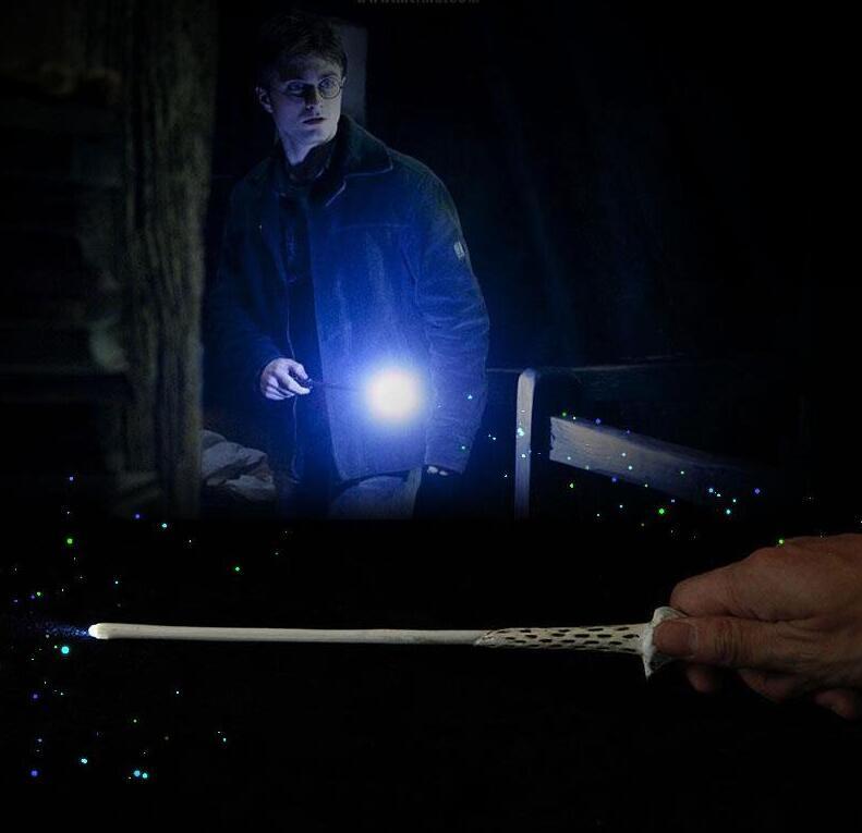 11 stili Harry Botter Hogwarts Bacchetta Magica Ha Condotto La Luce Puntelli Cosplay Sirius Hermione Voldermort Bacchetta Magica di Natale Festa Di Compleanno Giocattolo Regalo