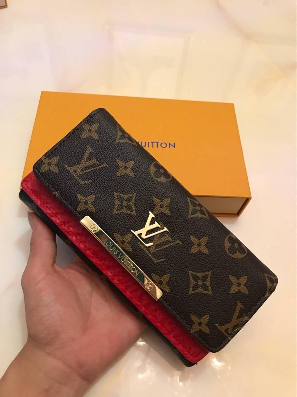 $ La façon la plus en vogue de transporter de l'argent, des cartes et des pièces de monnaie avec le titulaire de la carte de portefeuille en cuir des hommes célèbres pour long ter