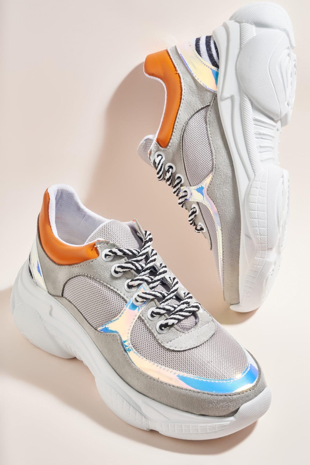 Bambi Light Grey Women 'S Sneaker H06393003