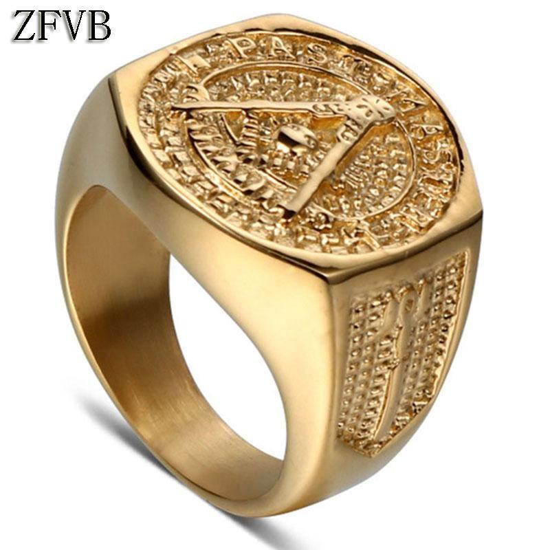 Real Freemason Ring