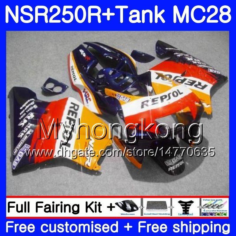 HONDA MC28 NSR250R Repsol mavisi üst 1994 1994 1996 1997 1998 1999 265HM.32 NSR250 R PGM4 NSR 250 250R 94 95 96 97 98 99 Fairing