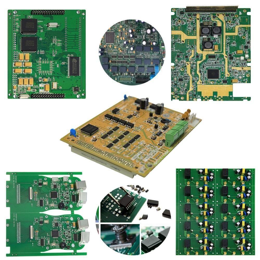 PCB و انتاج الكتلة 2 طبقات -24layers مجلس PCB المصنع المورد عينة الكمية الإنتاج الصغيرة سريعة تشغيل الخدمة