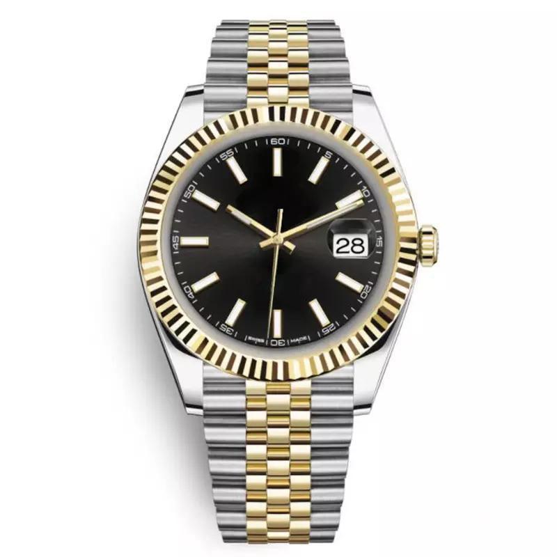 2020 핫 판매 남성 명품 스포츠 시계 자동 2,813 이동 41mm 스테인레스 스틸 솔리드 걸쇠 큰 일 대통령 Desinger 손목 시계