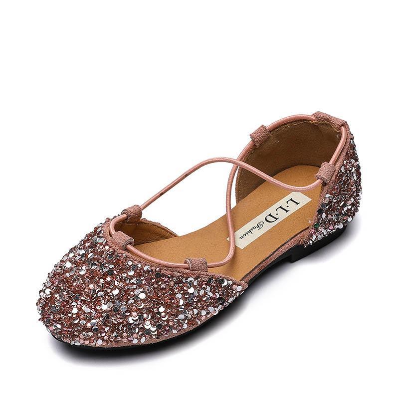 Kids Designer Shoes Sequin Girls Shoes