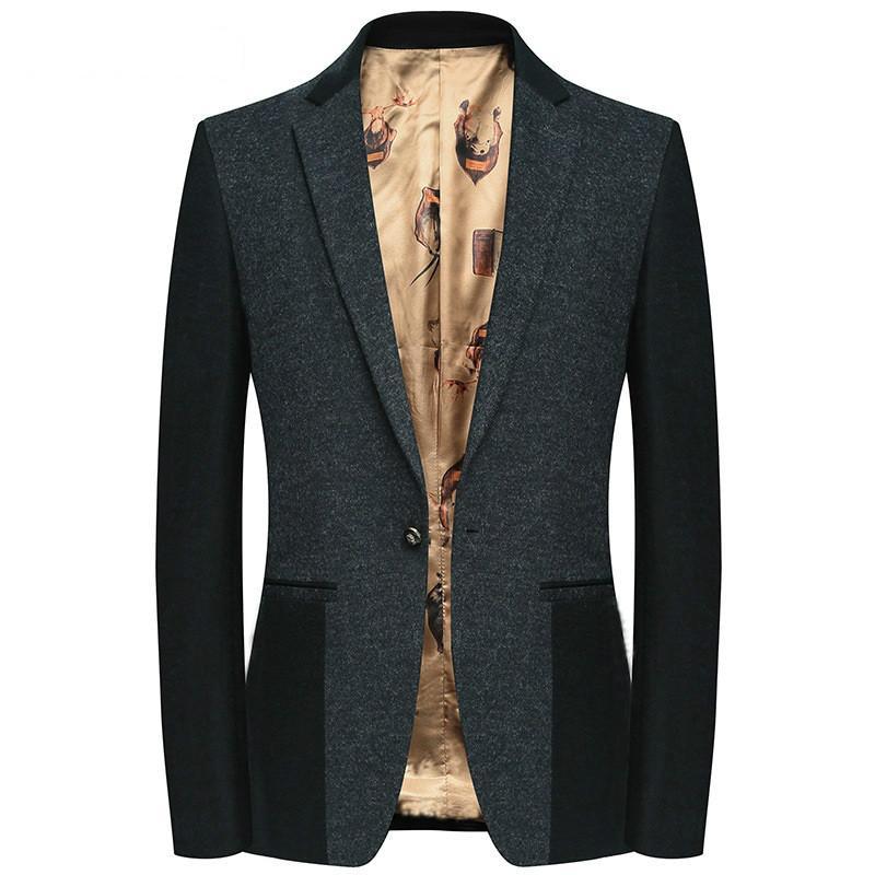 2019 nova chegada de alta qualidade homens 85% lã ocasional blazer, ternos jaquetas masculinas, jaquetas casuais homens 108-5