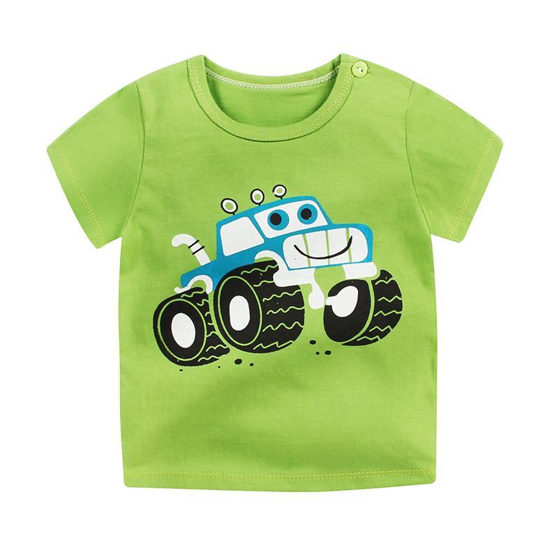 6m-7t Neonato Solido T Shrit Bambini T-Shirt in cotone 100% Manica corta Bambini Ragazzi Top Magliette sportive Estate Ragazze