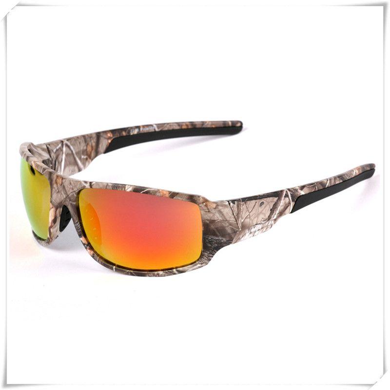 Polaroid Pesca Gafas de sol para hombres gafas de montura con camuflaje deportes al aire libre Caza canotaje gafas de sol