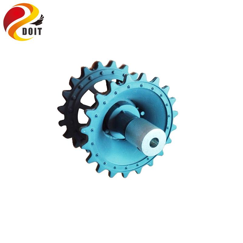 Plastic Driving Wheel with Coupling Inner Size 4mm, 5mm, 6mm for Tank Chassis Crawler DOIT