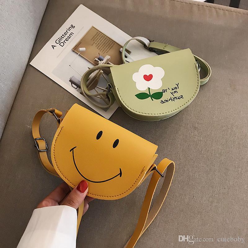어린이 미니 지갑 메신저 미니 PU 만화 가방 소녀 소년 핸드백 어린이 크로스 바디 백 패킷 DHL