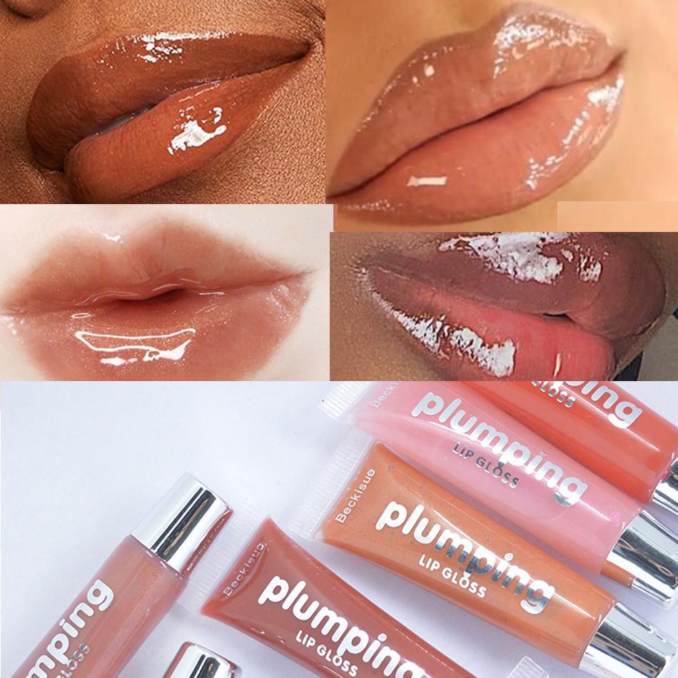습식 체리 광택 캔디 컬러 립글로스 립 플럼 퍼 메이크업 방수 반짝이 액체 립스틱 Batom 매트 액체 립글로스 60PCS