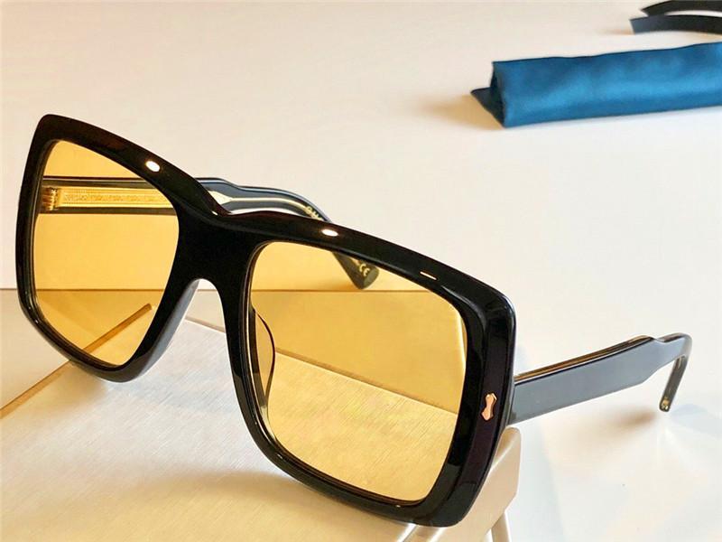 Occhiali da sole all'aperto moda occhiali da sole Occhiali da sole quadrato telaio quadrato Quality Glasses ottico semplice o stile Avanguardia 0366 New EyeWitness WWEJM