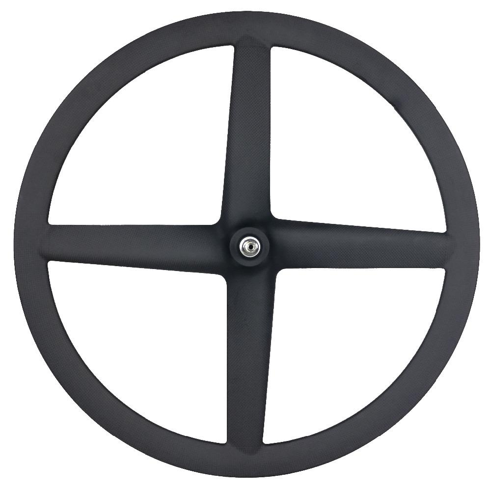 Hot sale bike road track wheels four carbon wheels 700c bicycle 4 spoke wheelset fixed gear or road both available