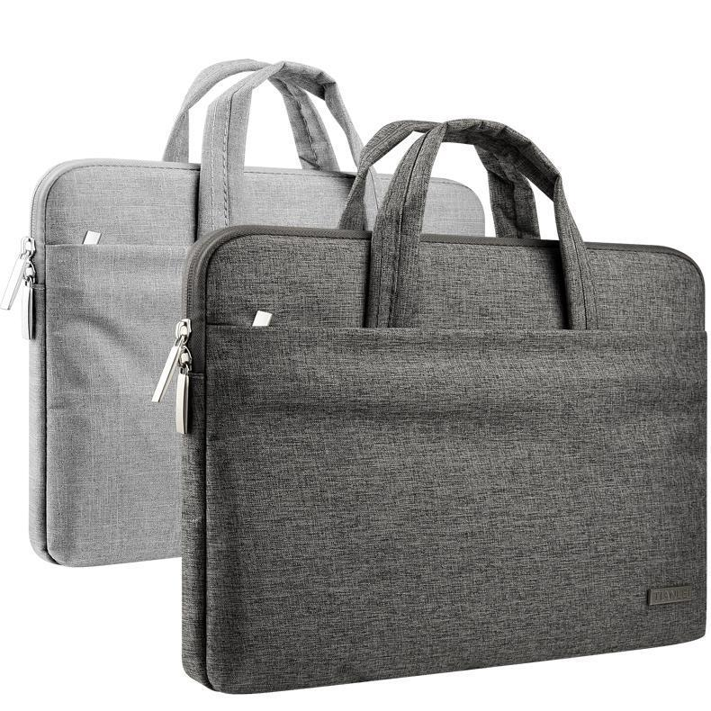 كمبيوتر محمول كم حقيبة المياه طارد حقيبة مع مقبض للماك بوك اير مايكروسوفت السطح حقيبة حمل حقيبة الكمبيوتر المحمول