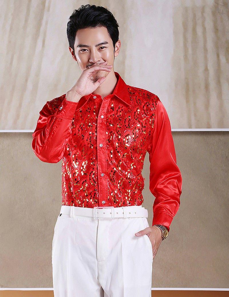 Chemise à manches longues en coton de haute qualité en coton pour hommes Petite pliure de col pointu Formas Occasions Robe Chemises