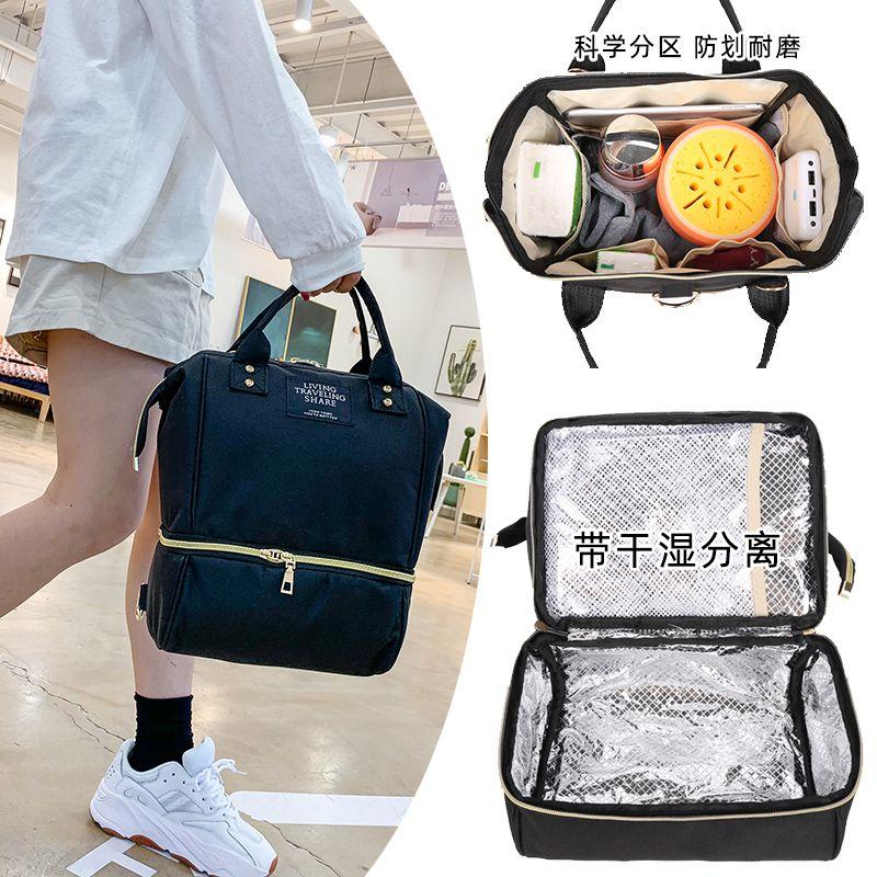 2019 New Multi-function Mummy Maternity Nappy Bag Travel Mommy Bag