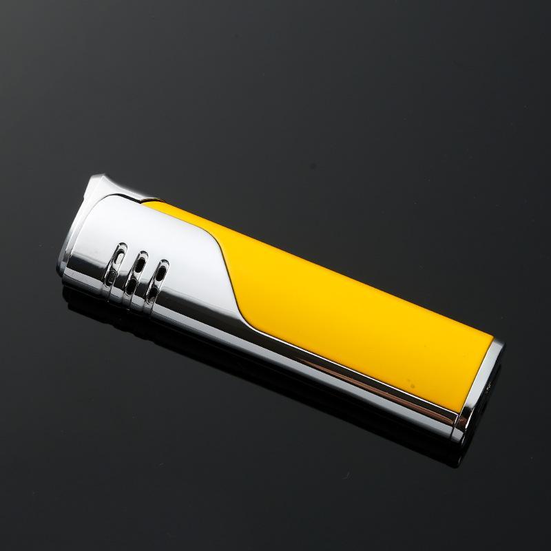 Jobon compacto de Gaza Jet ligero a prueba de viento del butano del cigarrillo inflable regalo de la manera Encendedores de amigo