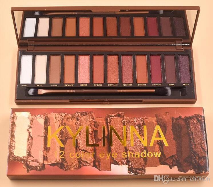 LYLNNA 12 Couleur Ombre à paupières 12 couleurs dernières maquillage ombre Palette 12 Couleur Ombre À Paupières palette livraison gratuite