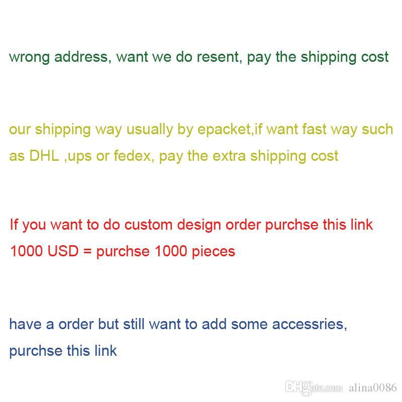 este link para OEM ordem ordem de design personalizado ou pagar o transporte extra