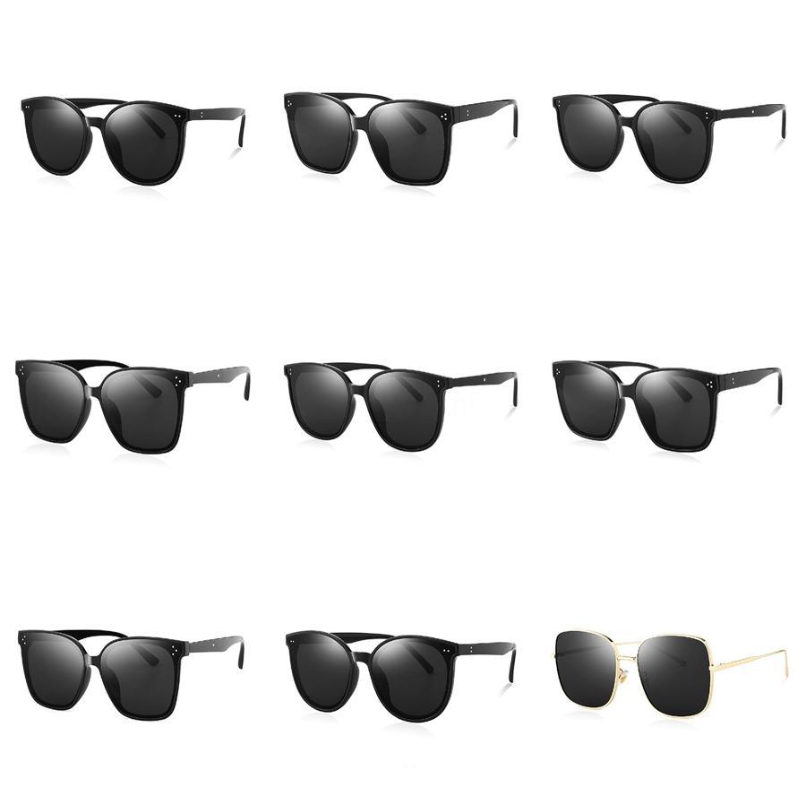 2020 Yeni Yetişkin Silikon Yumuşak Polarize Güneş Gözlüğü Rahat Renk Film Klasik Kare Glasses All-Around ile Çanta CNE Ücretsiz Kargo # 554