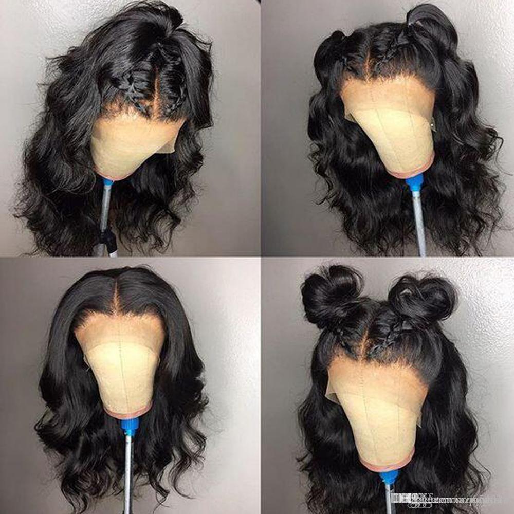 360 Parrucca frontale in pizzo Parrucche con capelli ricci a densità 180% Pre-nascosta con parrucca frontale in pizzo