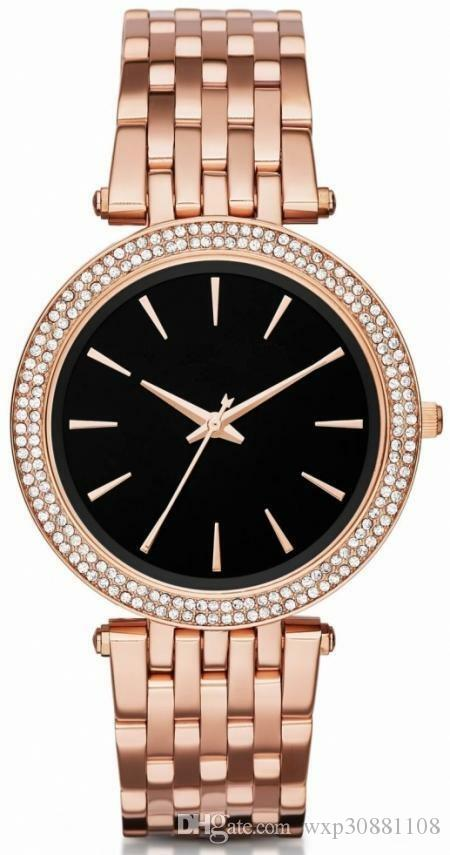 Romance classique de loisirs d'affaires de luxe de la mode hot-vente ladies'watch mk3402 montre à quartz est une livraison gratuite de haute qualité