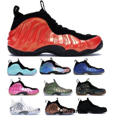 Habanero Red Penny Hardaway Basketball Shoes For Men Mens Foams One Pro Floral NRG Galaxy Eggplant Army Camo Copper Sports Trainers Sneakers