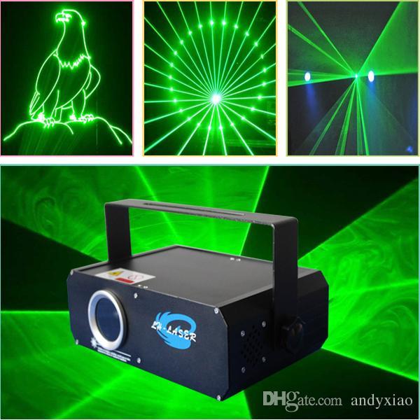 Luce laser di animazione verde da 500mW con luci da palcoscenico SD Card Laser da discoteca verde da 500mW 520nm per spettacoli di festa