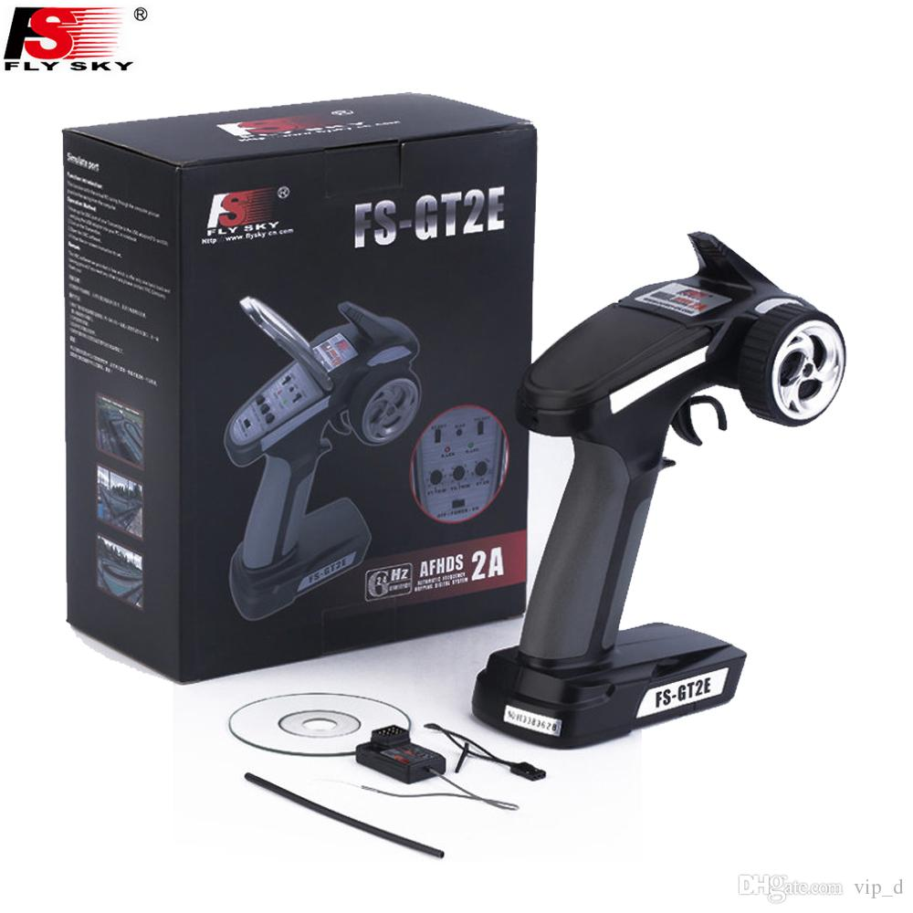 FlySky FS-GT2E AFHDS 2.4G 2CH Transmitter & FS-A3 Receiver Remote Control System RC Boat Car Accessory Spare Parts