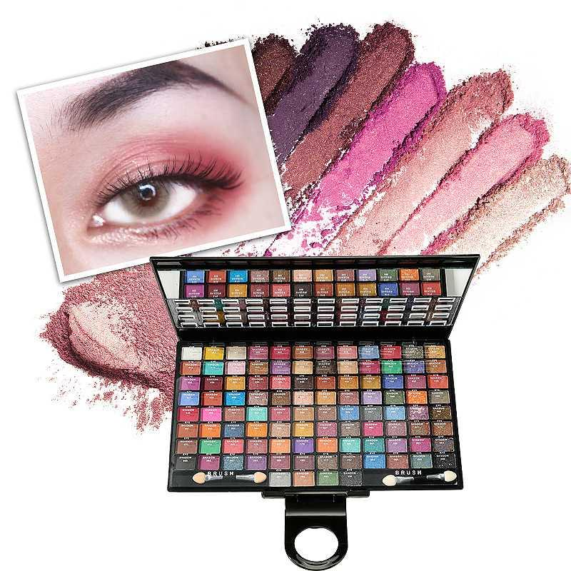 100 Colors Eyeshadow Palette Make Up Earth Eye Shadow Cosmetic Glitter Waterproof Long Lasting Makeup Tools For Women Beauty