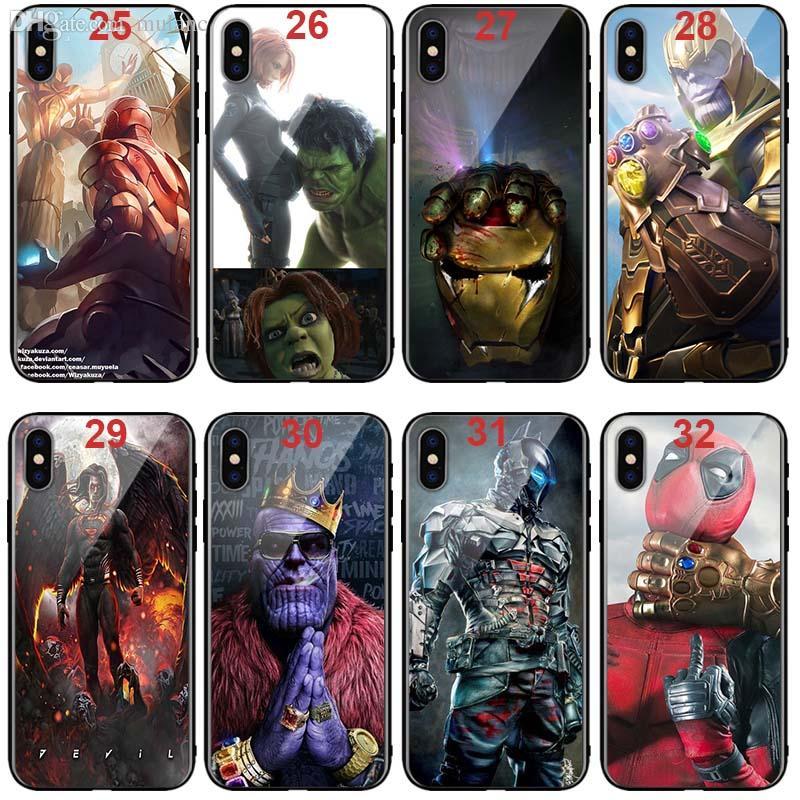Kids Marvel Superhero Spiderman Captain America 3D Hard Case Cover Apple Models