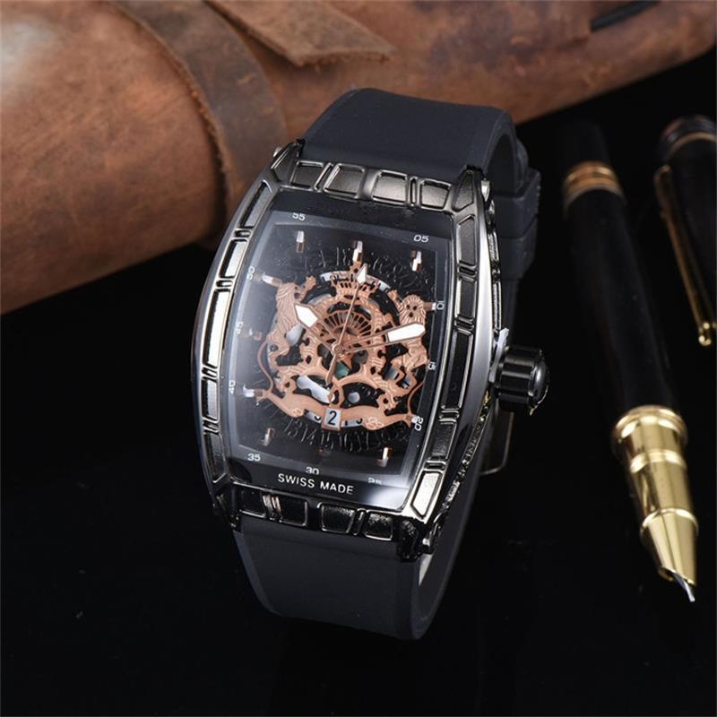 Новый модный полый циферблат мужчины женщина кварцевые часы повседневная резиновый ремешок кварцевые часы дизайнер мужчины кварцевые часы Бесплатная доставка