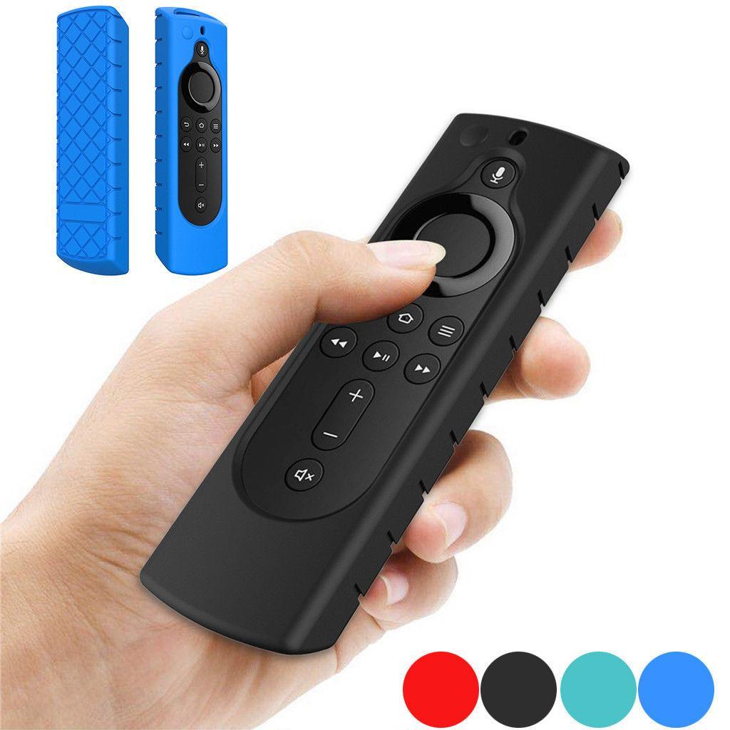 Yangın TV stick 4K / Yangın TV Küp / Yangın TV (3. Nesil) Kapak Kayma Önleyici Şok Dayanıklı Kılıf Kapak Yeni Silikon Uzaktan Kumanda Kapaklar