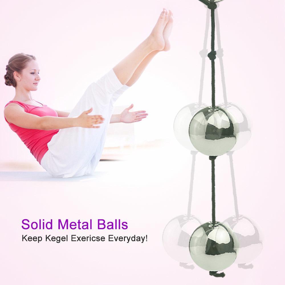 Solid Steel Kegel Ball MX191219 Vibrator In Stimulate Swing Anal Bullet Beads Adult Tighten G-spot Climax Product Like Vagina Trainer E Nukn