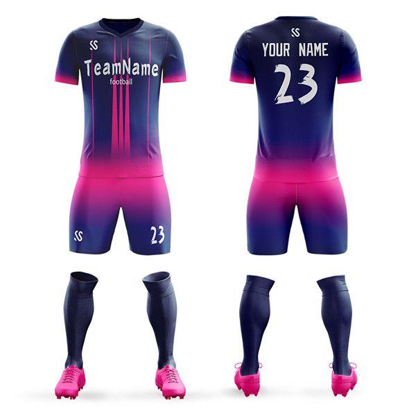 2019 2020 موسم مخصص لكرة القدم جيرسي تناسب الشباب الكبار لكرة القدم ارتداء كل حجم الجملة لكرة القدم موحدة