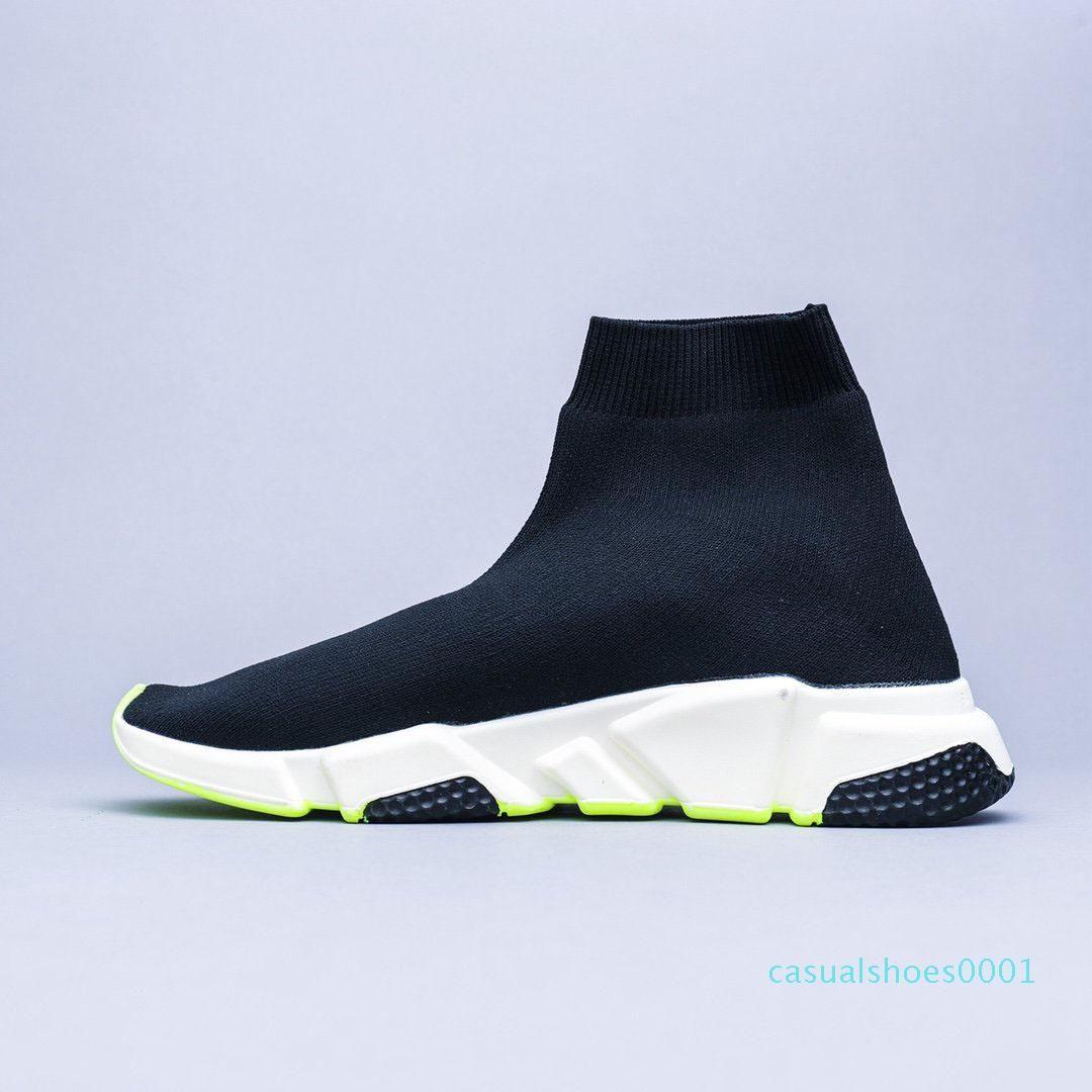 2020 nuovi Mens Designer Shoes Parigi scarpe da tennis famose calde del progettista con suola bianca trama superiore di design Scarpe calzino di velocità per le donne AS21