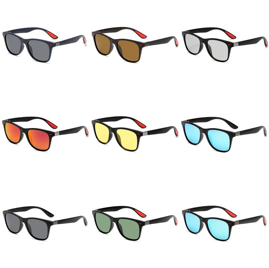 Hot Sale Fashion New Unisex New Style Multi-Coloured Summer Shade Sunglasses 500 1Pcs Lot #126