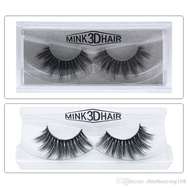 Beauty mink eyelashes 3D MINK False Eyelashes Messy Cross Dramatic Fake Eye Lashes Professional Pure hand-made perfect line sense