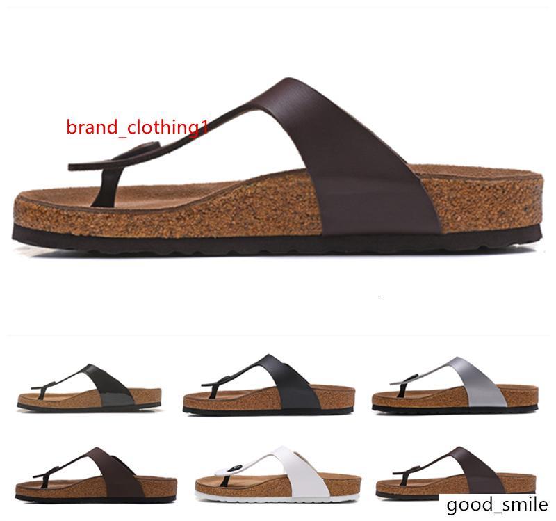Mayari Arizona Gizeh tasarımcı çevirme yaz Erkekler Kadınlar Flats sandalet Mantar terlik karışık Beach'in sandalet kürk slaytlar 34-46 yazdırmak flop